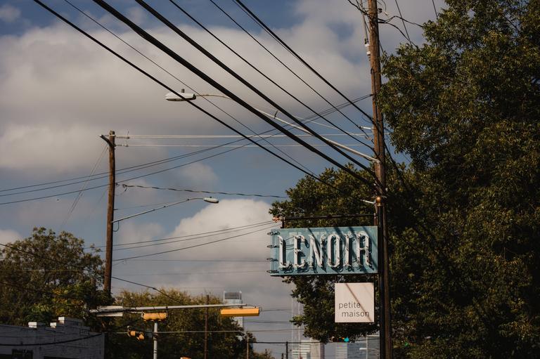 lenoir restaurant on south 1st in austin